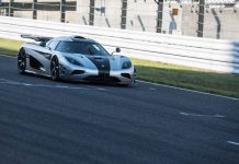 Koenigsegg One:1 at Suzuka Circuit Japan