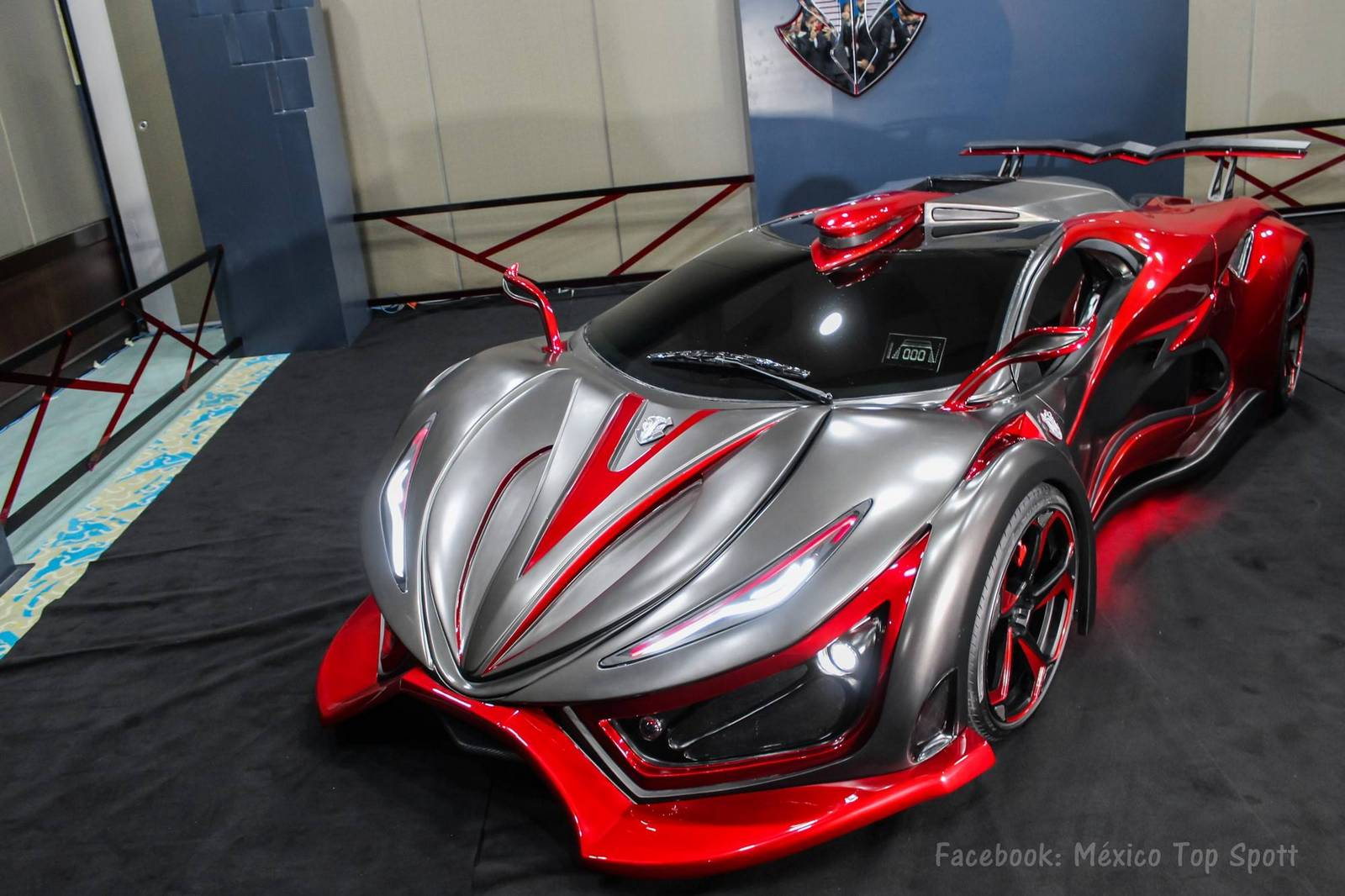 New Mexican Inferno Supercar Revealed With Hp Gtspirit
