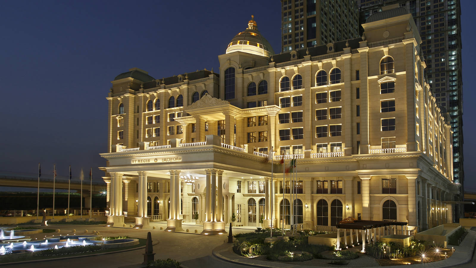 Recently opened st regis hotel and resort in dubai for Top hotels in dubai list