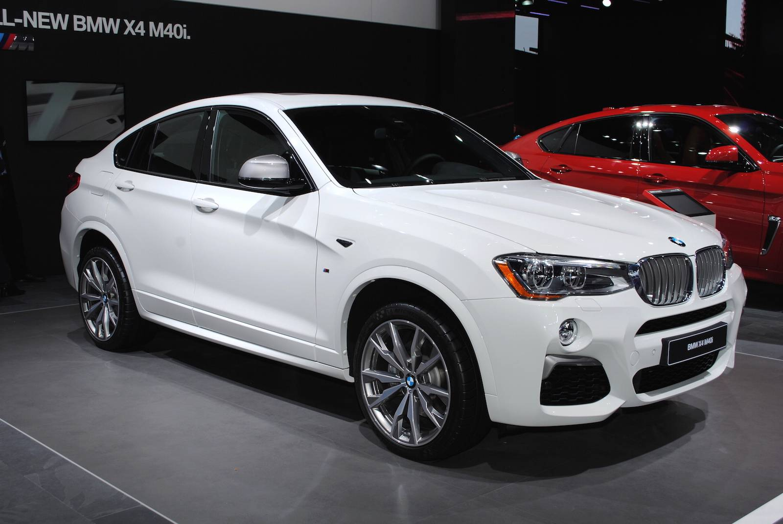 detroit 2016 bmw x4 m40i gtspirit. Black Bedroom Furniture Sets. Home Design Ideas