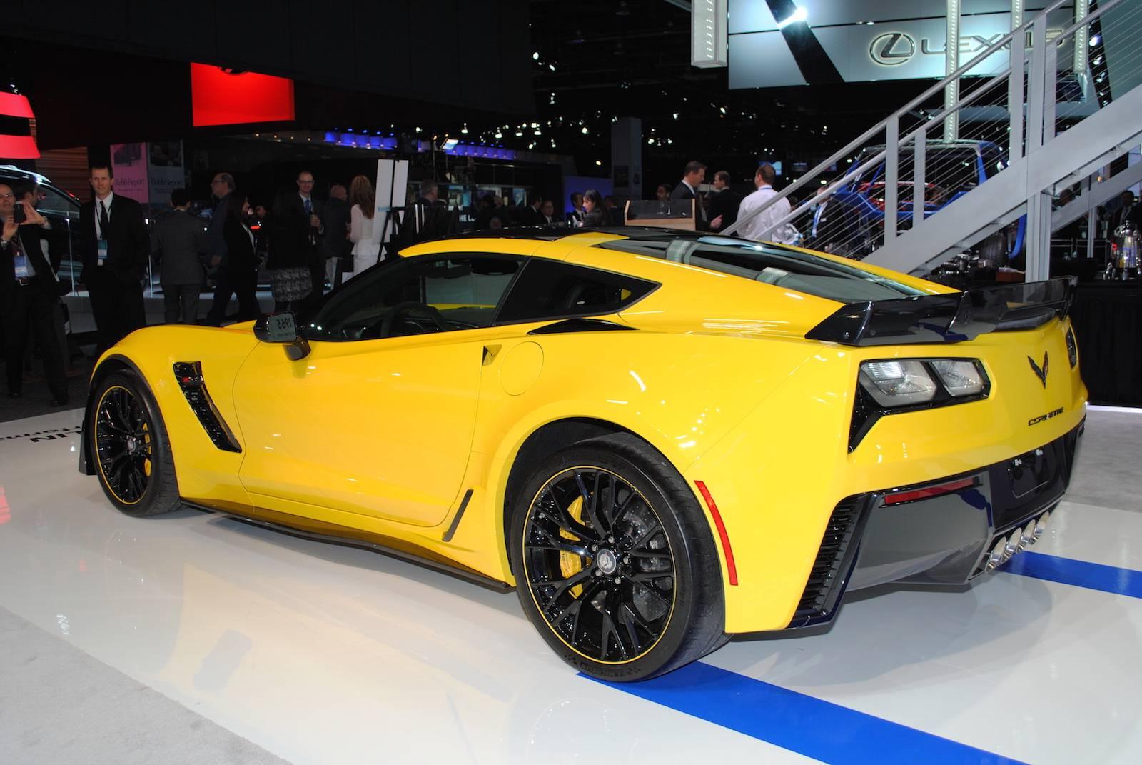 2016 Corvette Z07 >> Detroit 2016: Chevrolet Corvette Z06 C7.R Edition - GTspirit