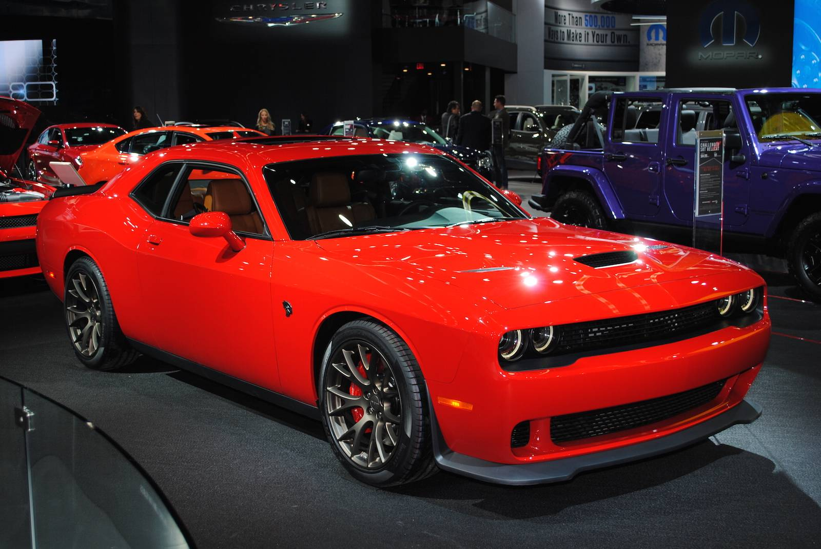 2016 Dodge Challenger Srt Hellcat Car