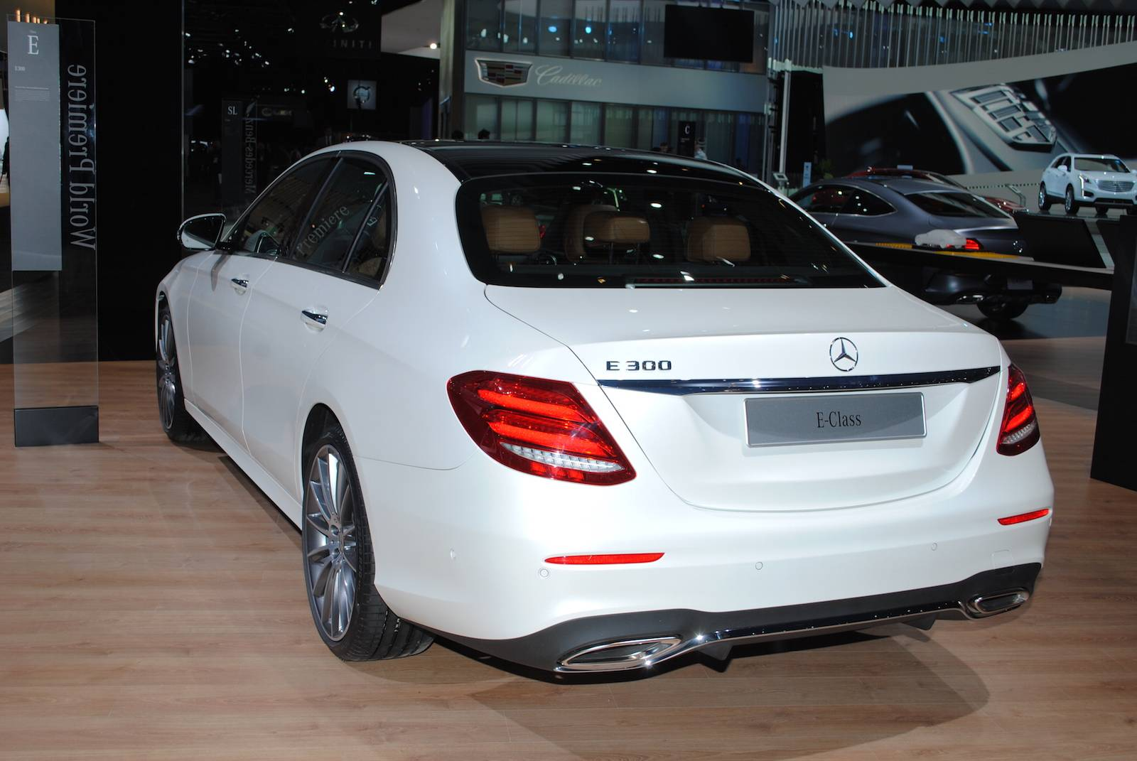 Detroit 2016 mercedes benz e class gtspirit for Mercedes benz cars com