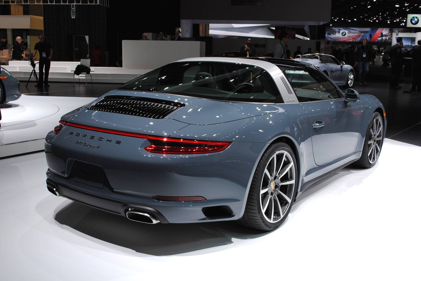 detroit 2016 porsche 911 targa 4 gtspirit. Black Bedroom Furniture Sets. Home Design Ideas