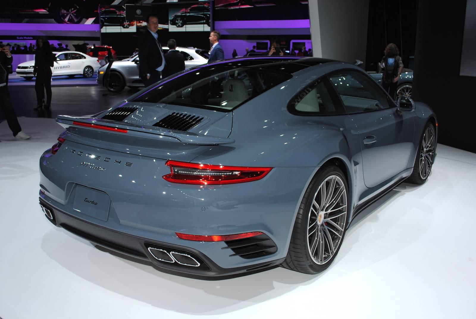 Detroit 2016 Porsche 911 Turbo And Turbo S Gtspirit