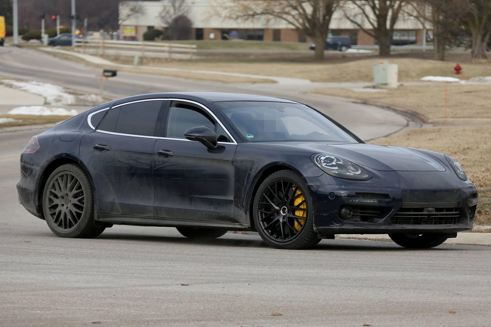 2018 porsche panamera shooting brake latest spy shots gtspirit -  Porsche Panamera First Interior Spy Shots Supercar