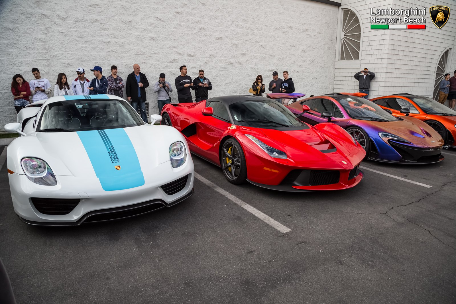 Lamborghini Newport Beach Kicks Off With Supercar Orgy GTspirit - Lamborghini newport beach car show 2018