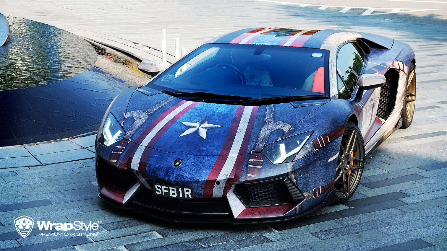Marvel Superhero Themed Supercars By Wrapstyle Singapore