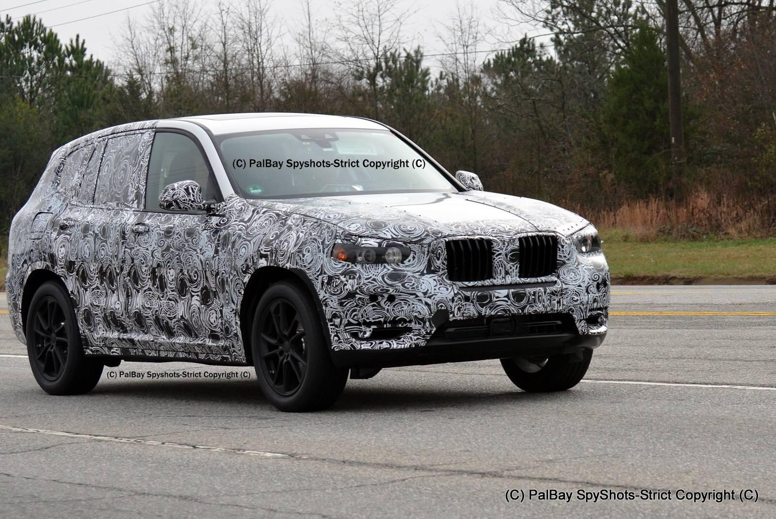 2017 BMW X3 M40i First Spy Shots