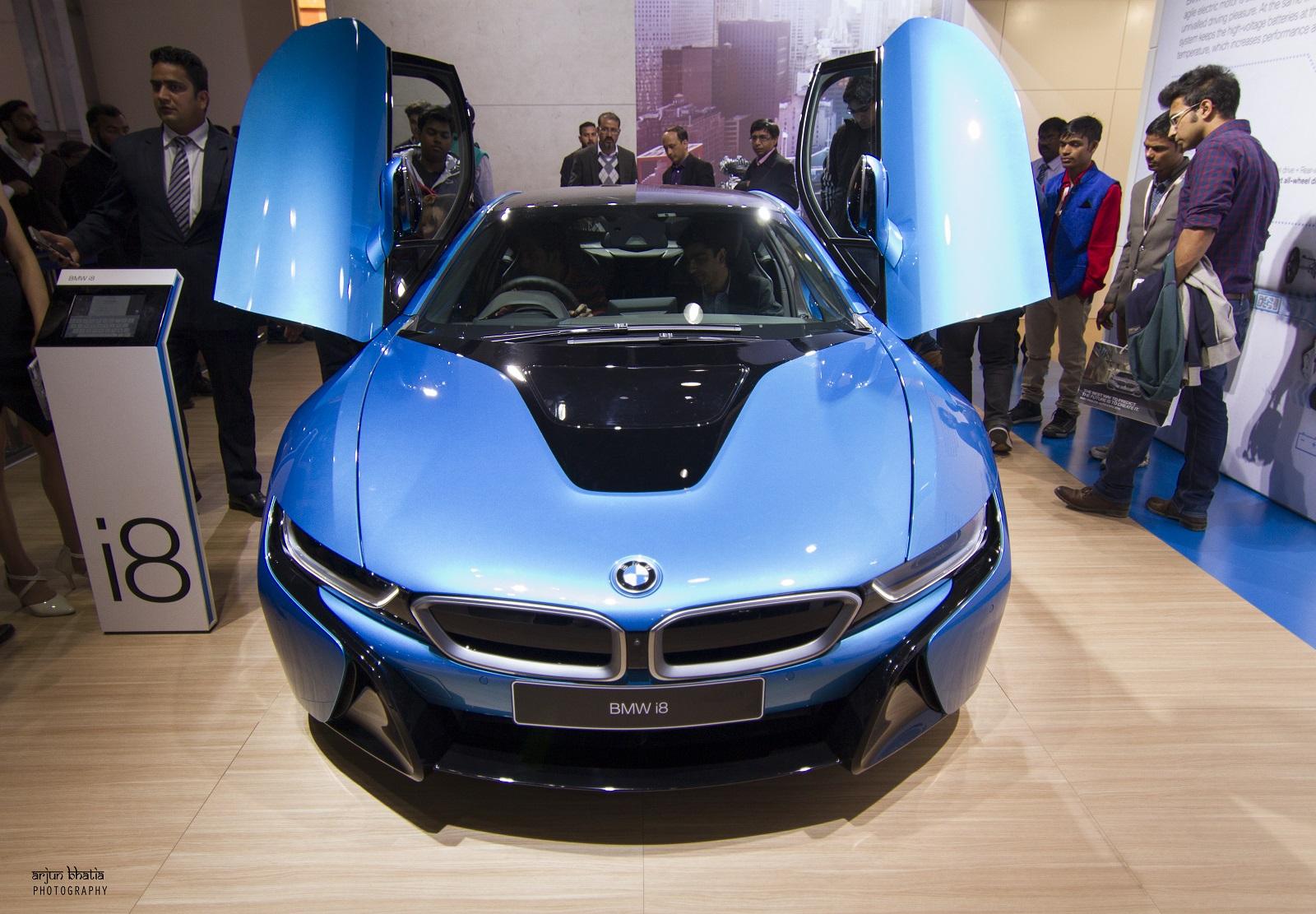 BMW I8 Delhi Auto Expo 2016 1
