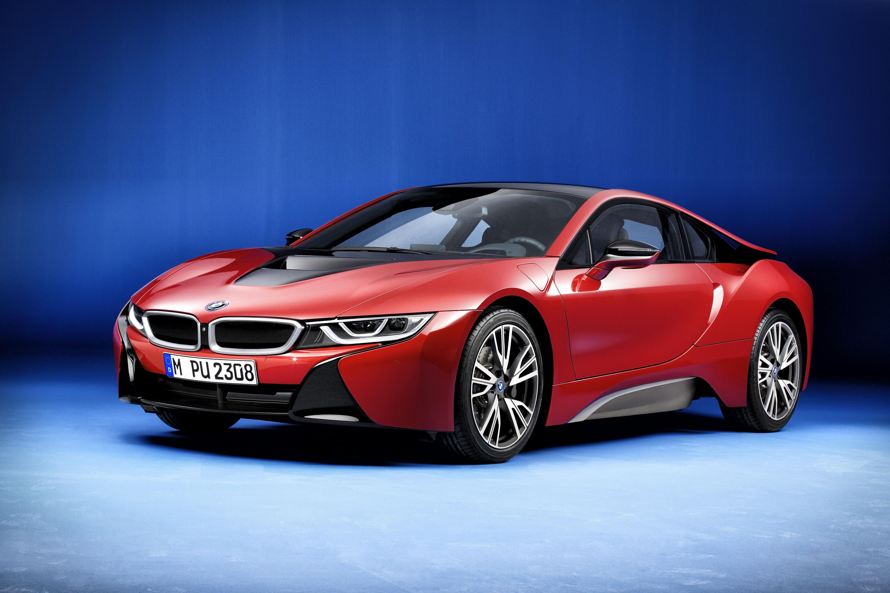 2016 BMW I8 Protonic Red Edition Supercar