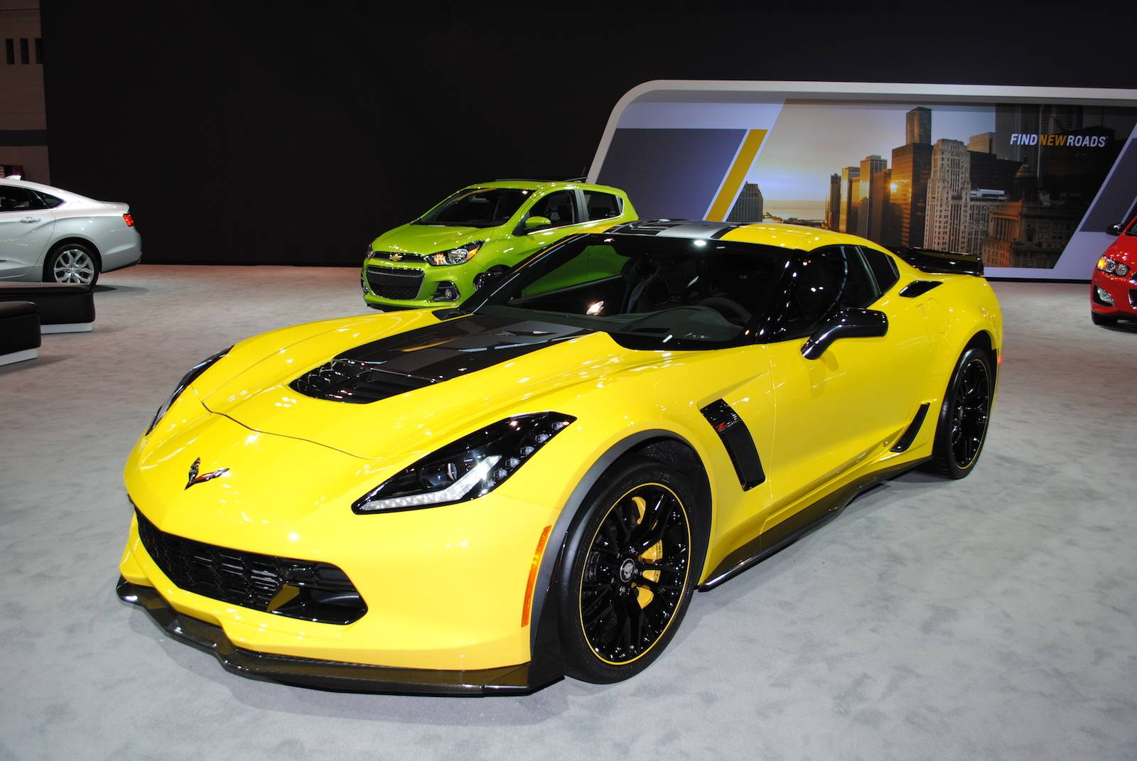 Gallery American Cars At Chicago Auto Show GTspirit - American sports cars 2016