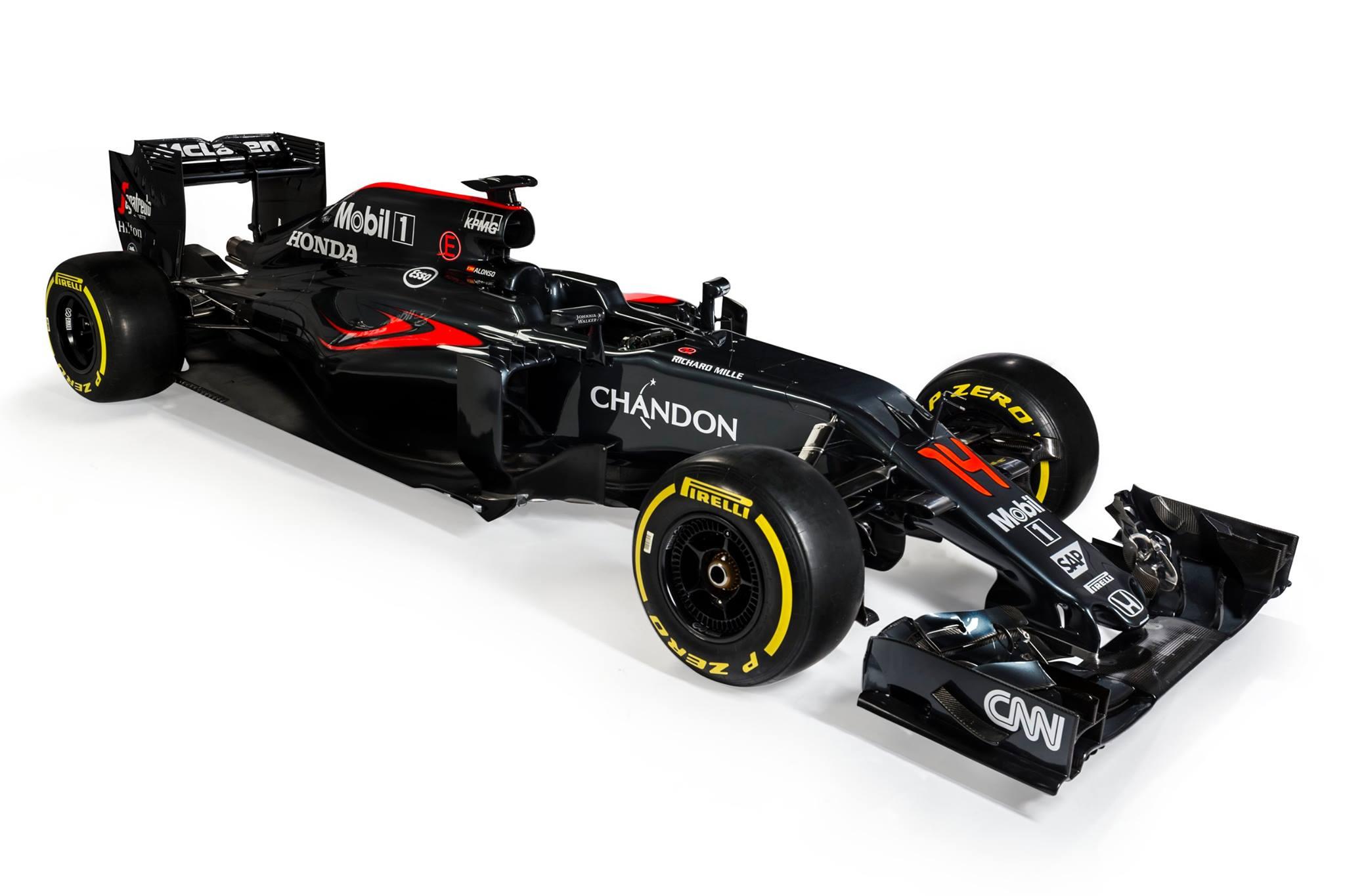 Official: 2016 McLaren MP4-31 Formula 1 Car - GTspirit