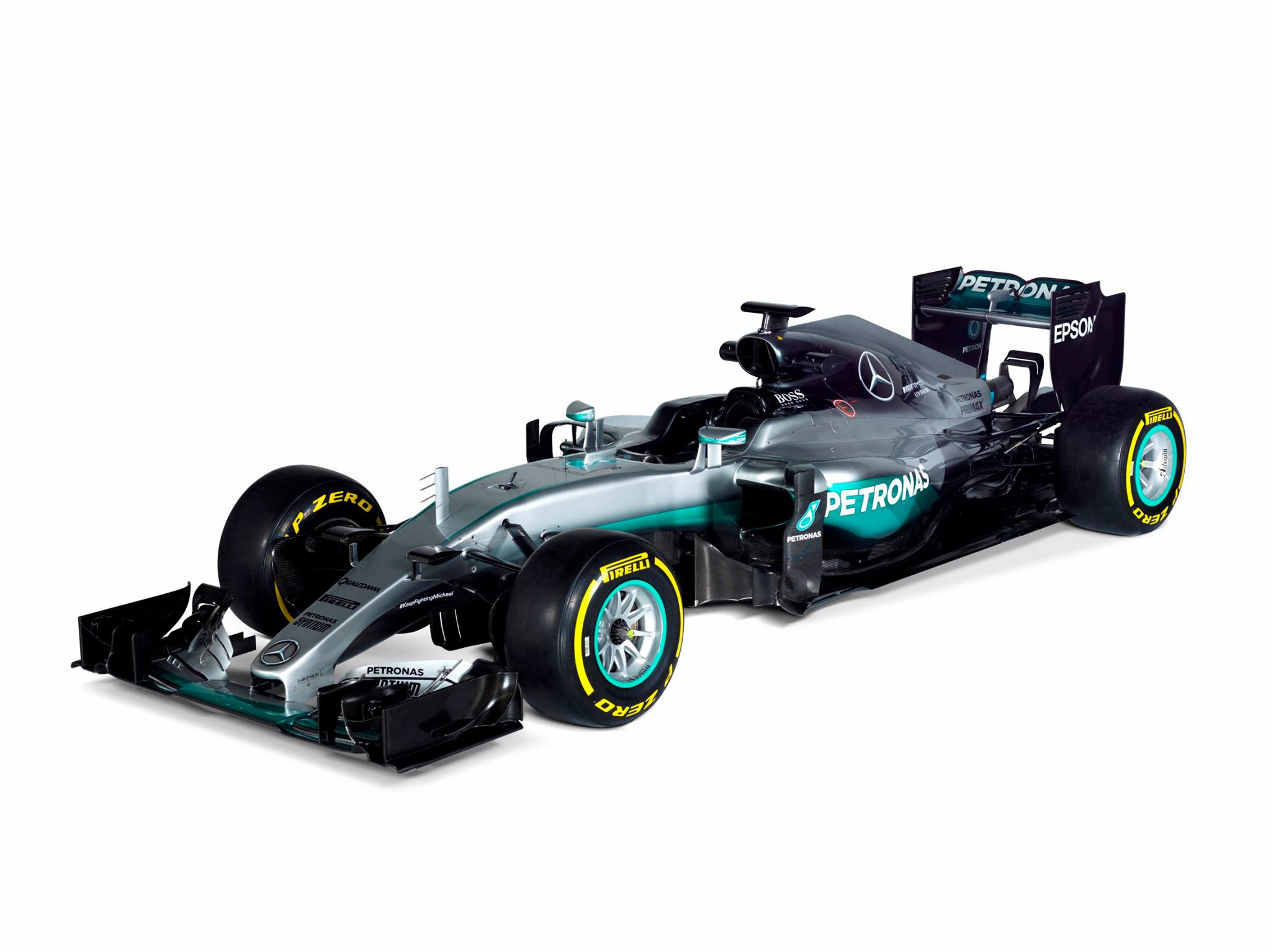official: 2016 mercedes-amg f1 w07 hybrid - gtspirit