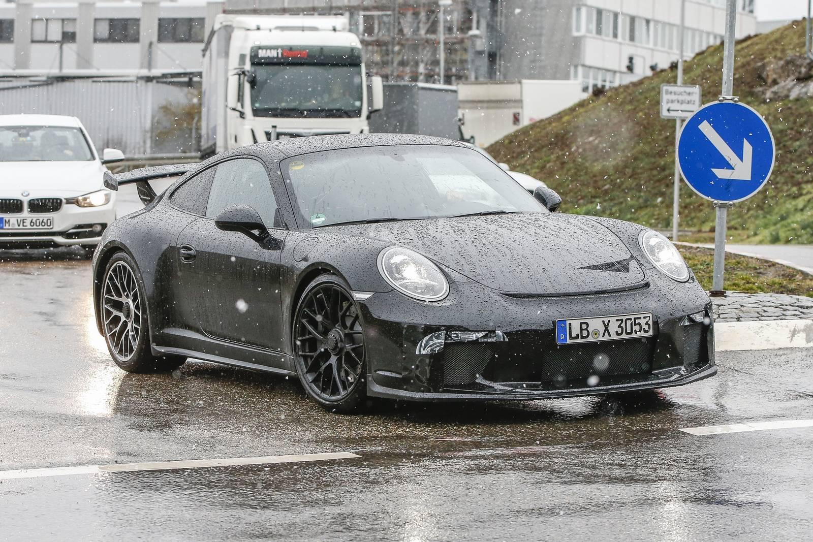 Porsche 911 Gt3 Facelift First Spy Shots Gtspirit