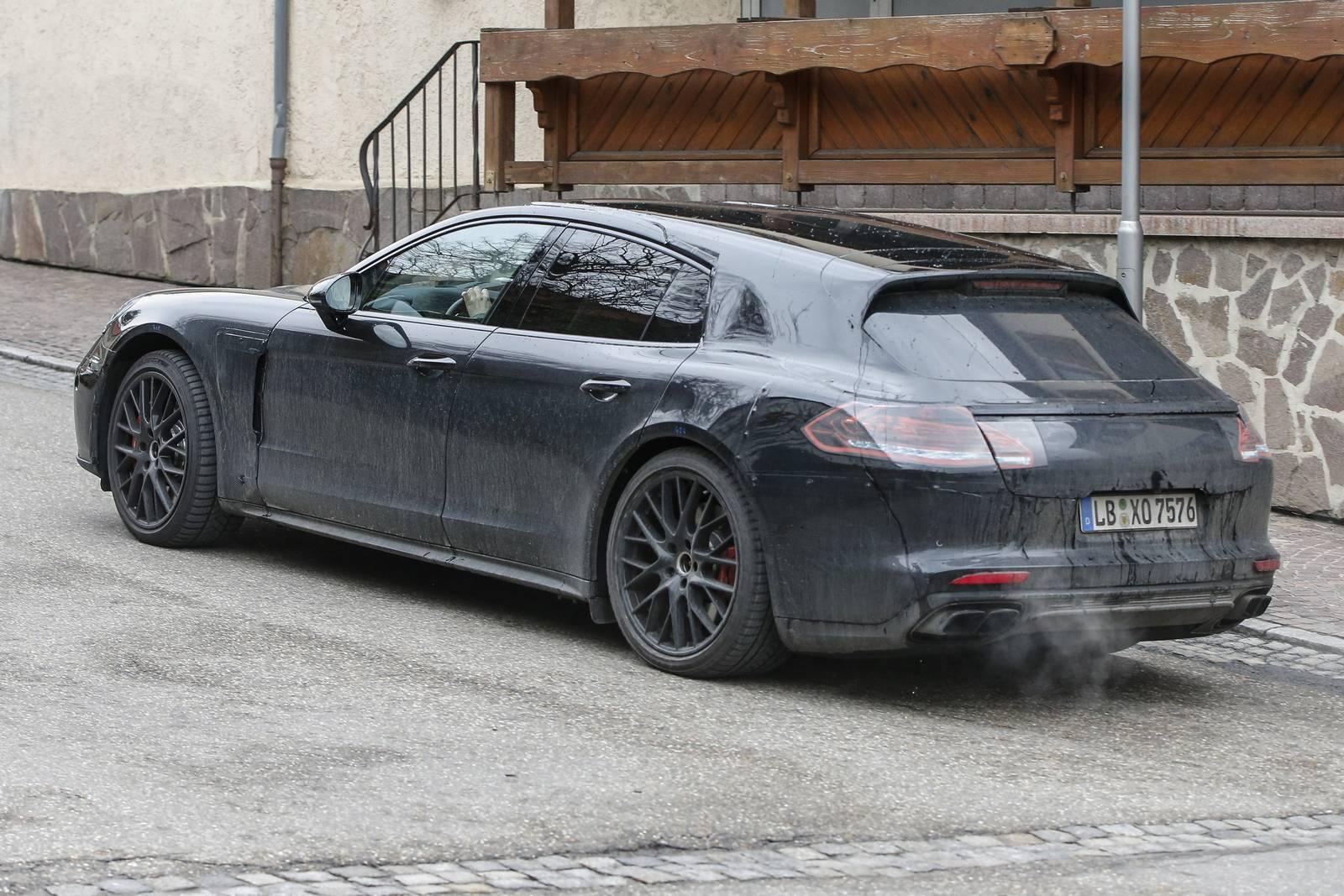 Porsche Panamera Shooting Brake First Spy Shots Gtspirit