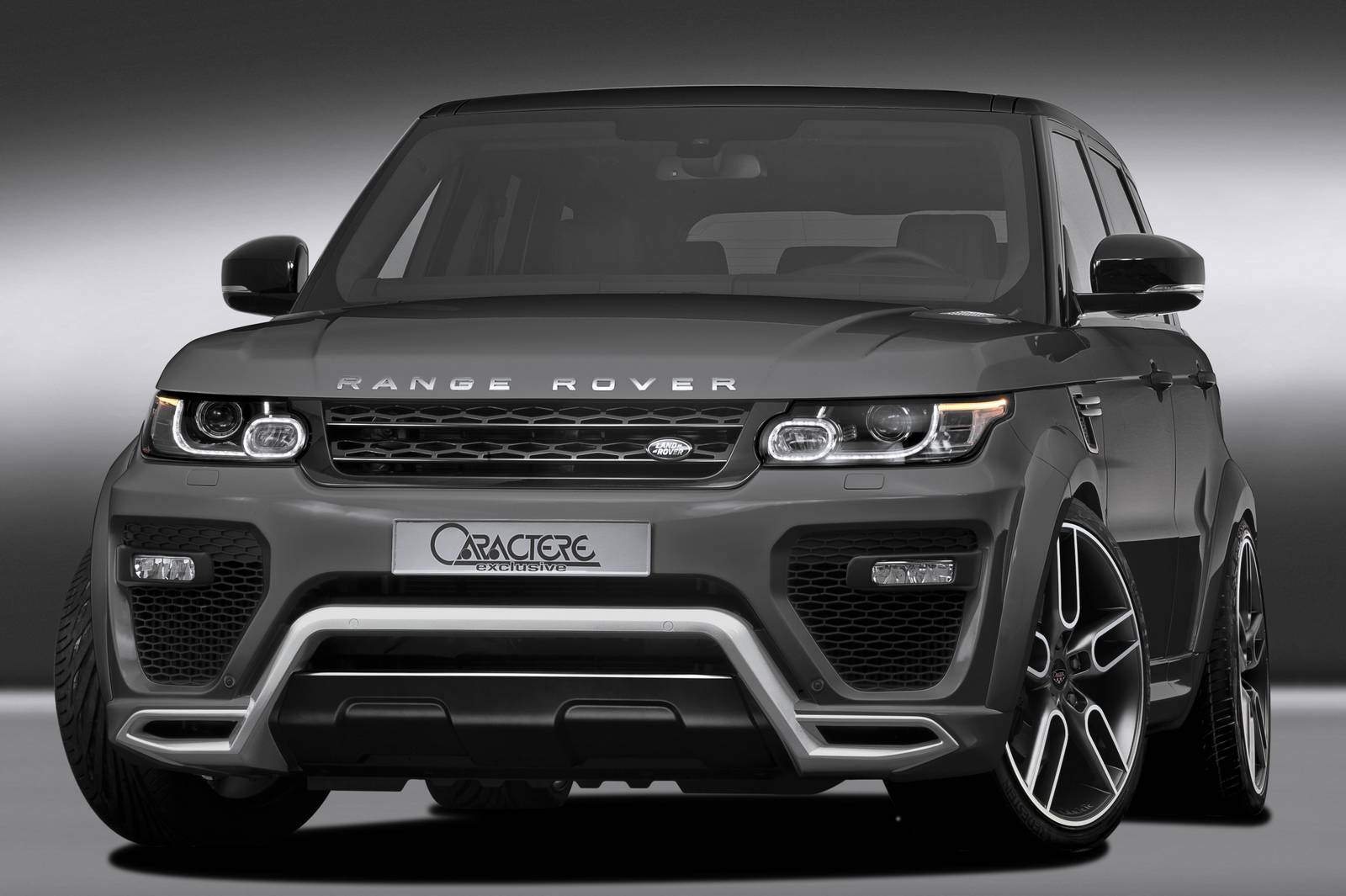 official caractere exclusive range rover gtspirit. Black Bedroom Furniture Sets. Home Design Ideas