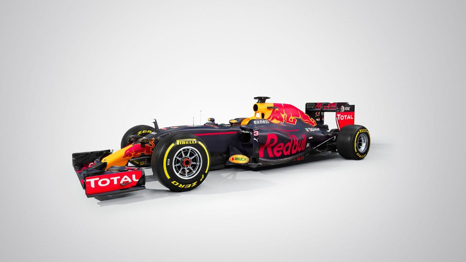 official 2016 red bull rb12 formula 1 car gtspirit. Black Bedroom Furniture Sets. Home Design Ideas
