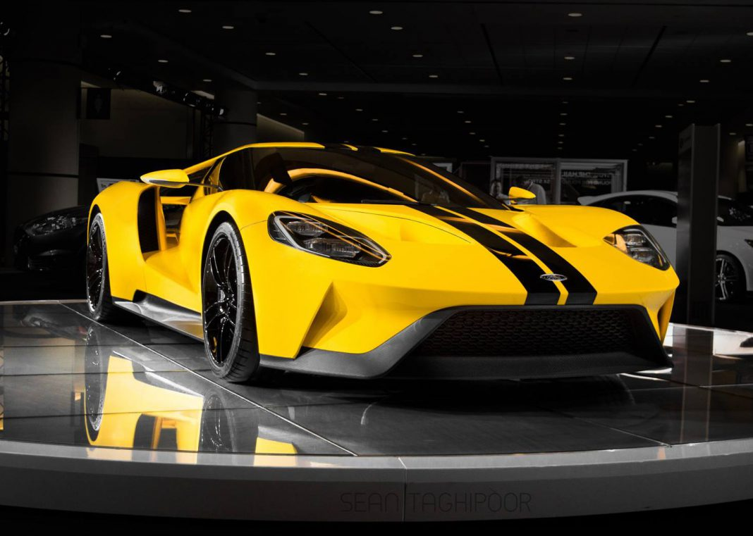 2017 ford gt output 647hp 745nm and 216mph top speed gtspirit. Black Bedroom Furniture Sets. Home Design Ideas