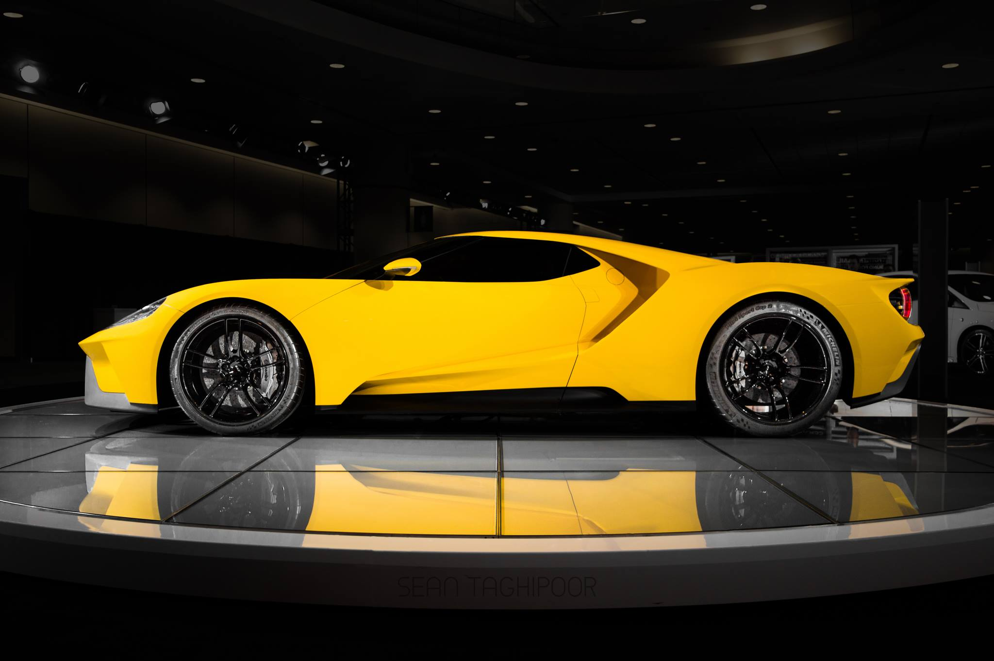 Photo Of The Day First Yellow 2017 Ford Gt Gtspirit
