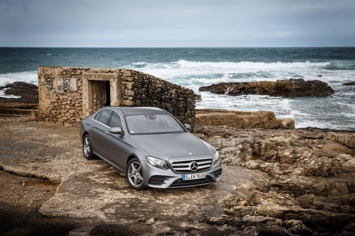 The  E-Class Press Test Drive, Lisbon 2016