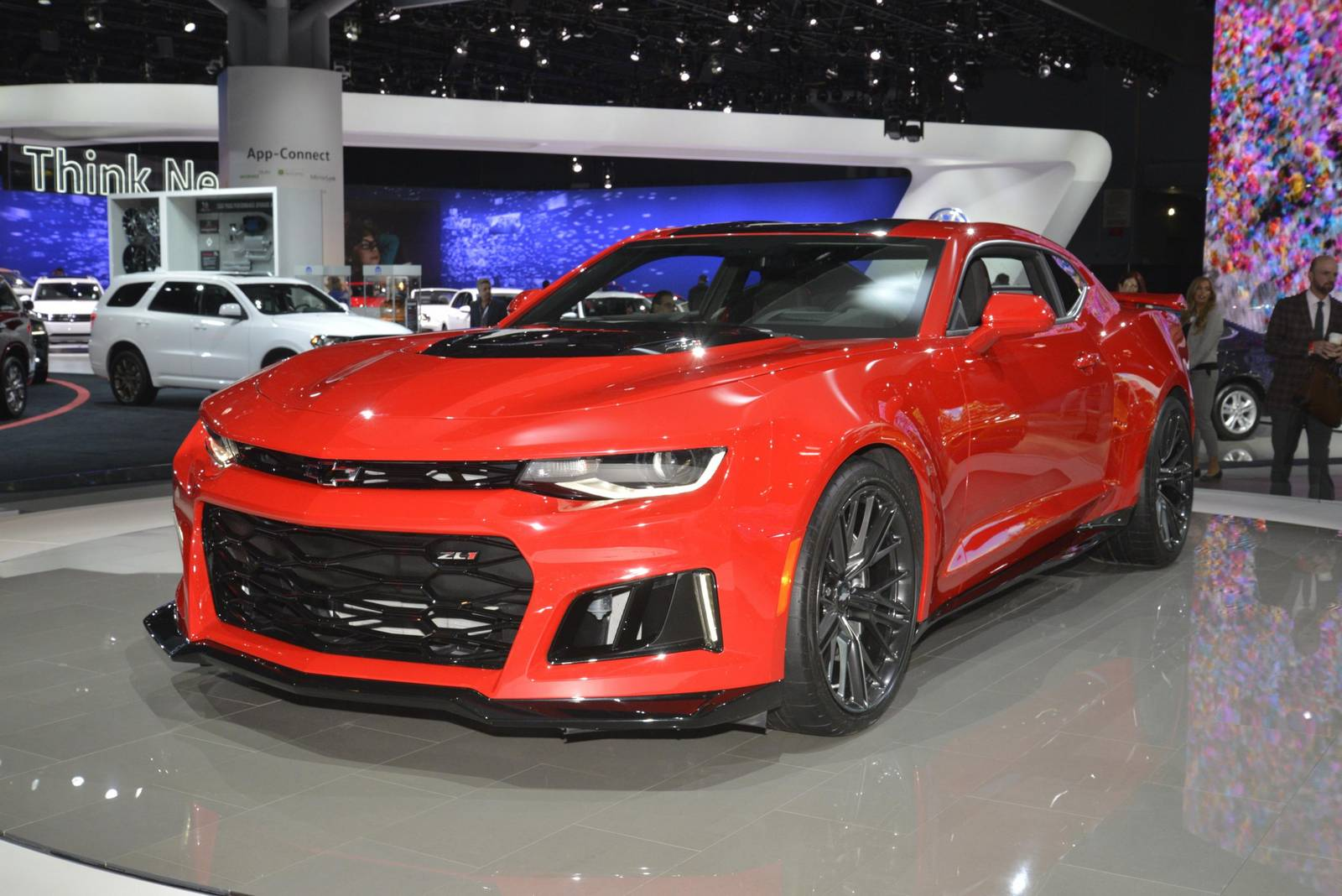 New Ford Developed Camaro Zl1 10 Speed Faster Than Porsche