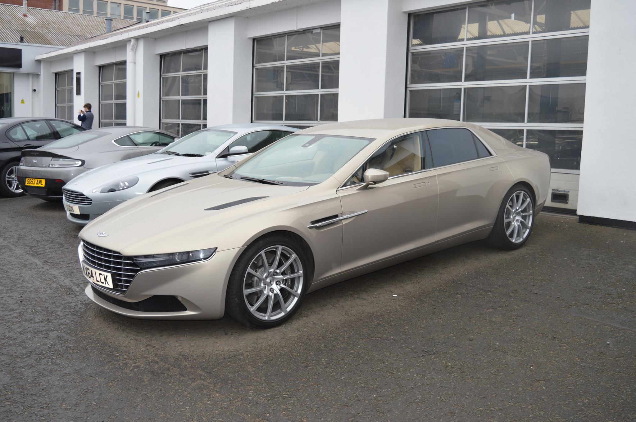 Rare Aston Martin Lagonda Taraf Snapped In Scotland Gtspirit