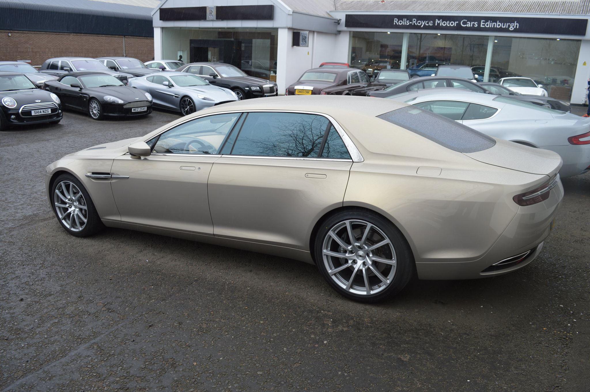 Rare Aston Martin Lagonda Taraf Snapped in Scotland - GTspirit on