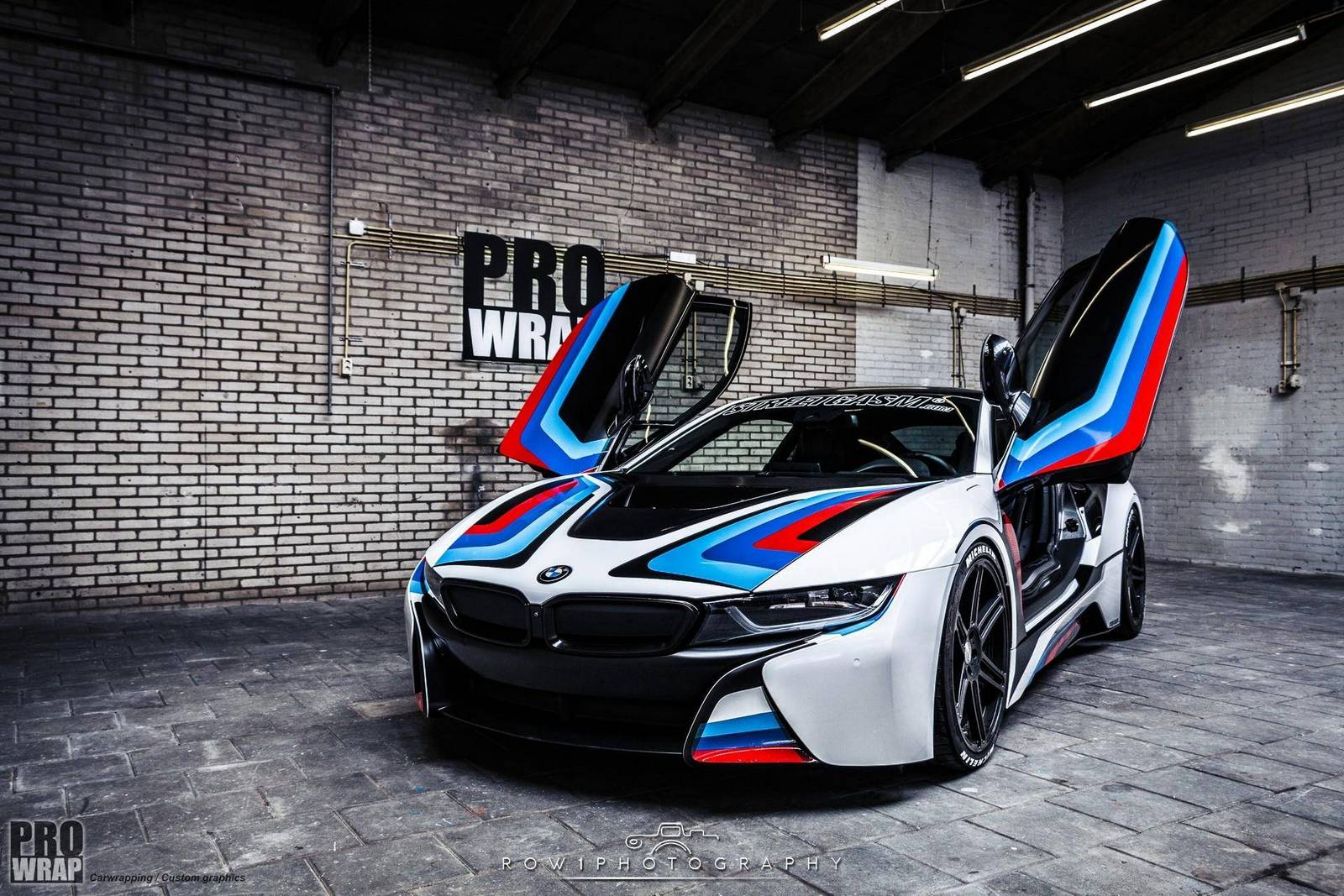Online Garage Design Custom Wrapped Bmw I8 By Prowrap In The Netherlands Gtspirit