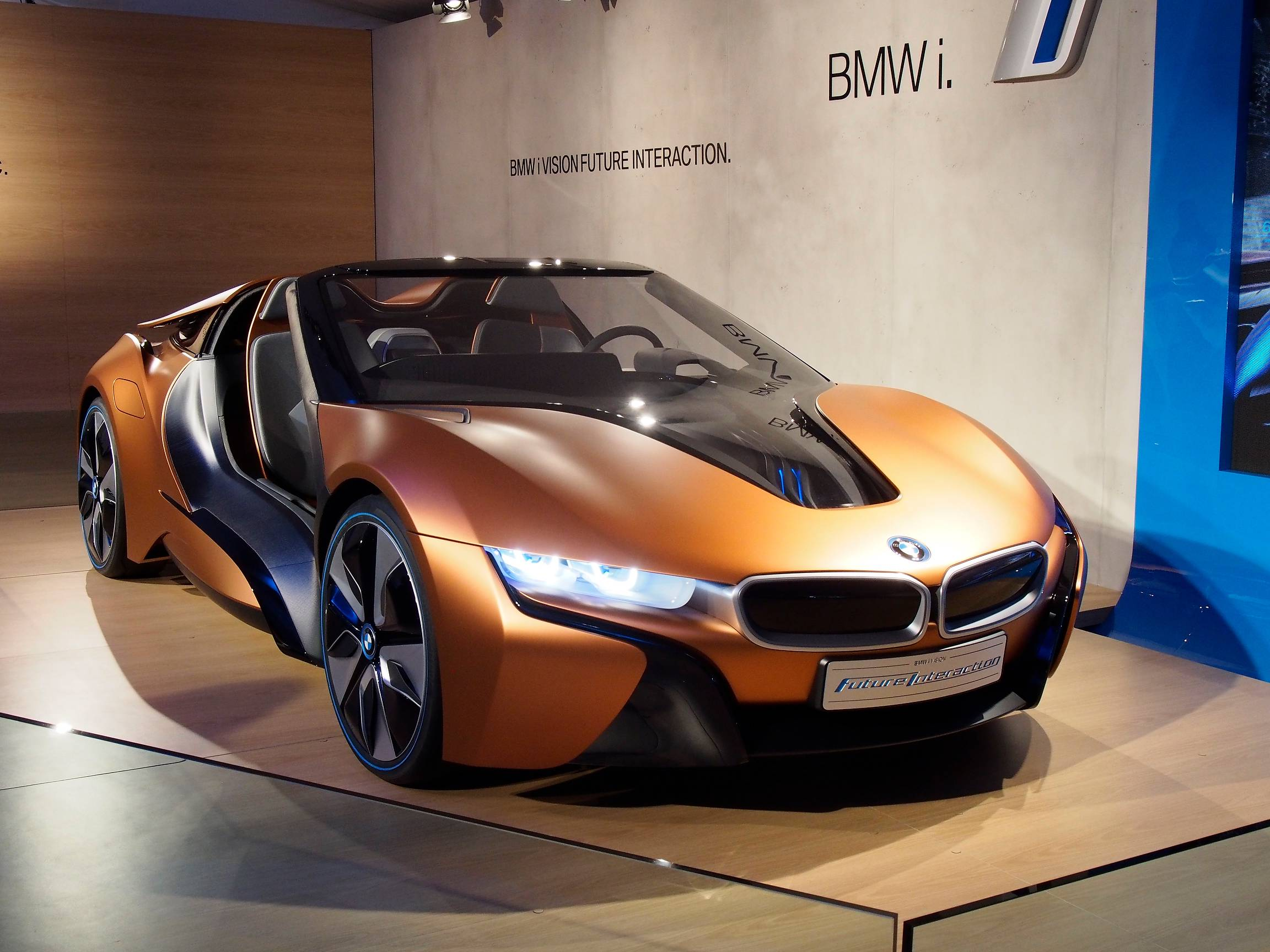 Bmw Confirms Three New I Models I8 Roadster New I3 I Next