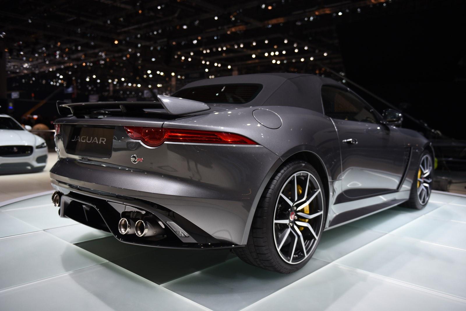 Geneva 2016: Jaguar F-Type SVR - GTspirit