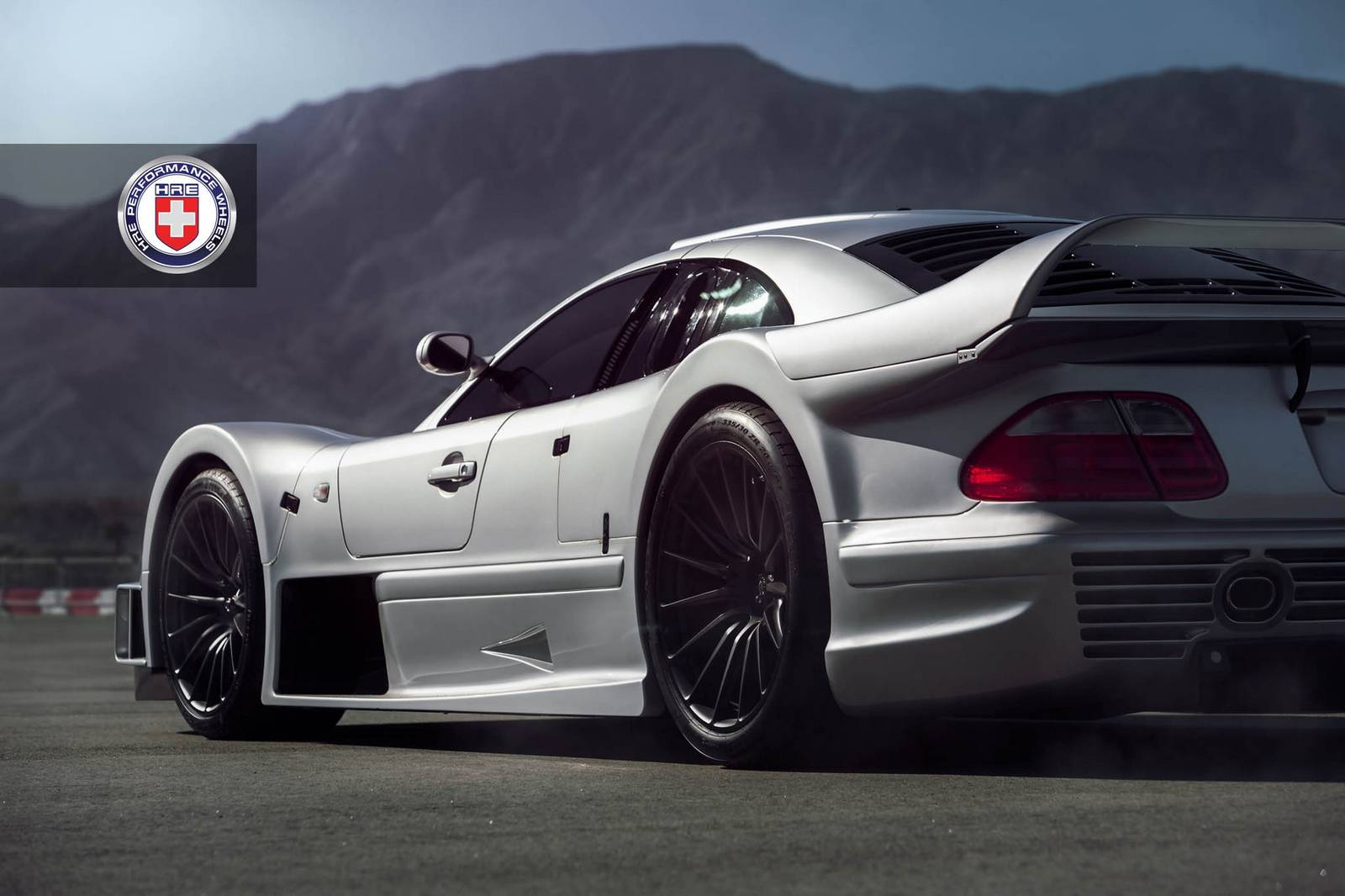 Stunning mercedes benz clk gtr with satin black hre wheels for Mercedes benz r