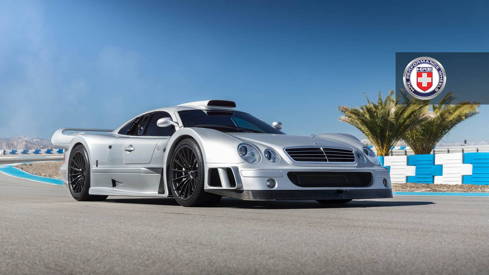 ... Mercedes Benz CLK GTR With Satin Black HRE Wheels. Wheels ...