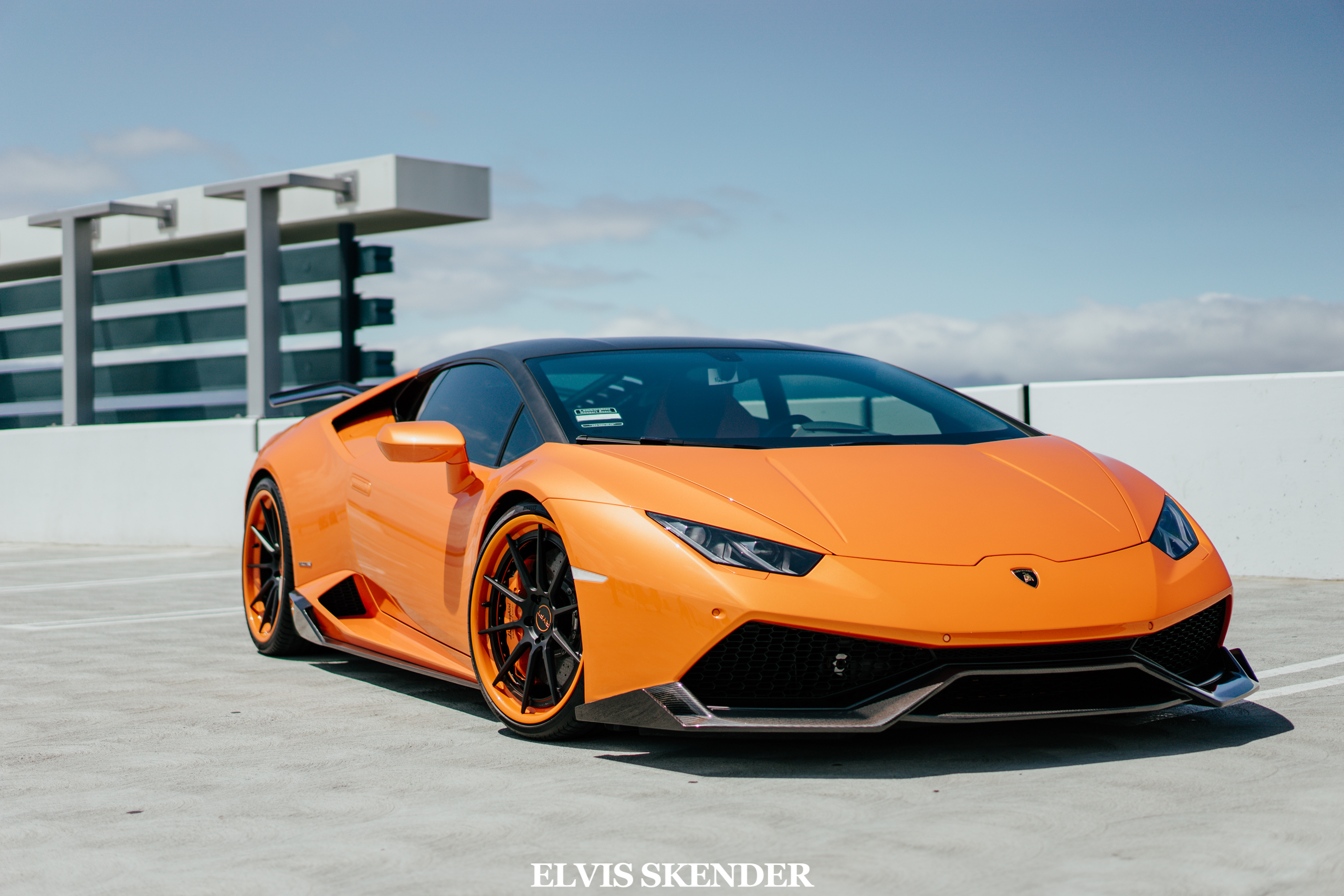 Stunning Orange Lamborghini Huracan By 1016 Industries