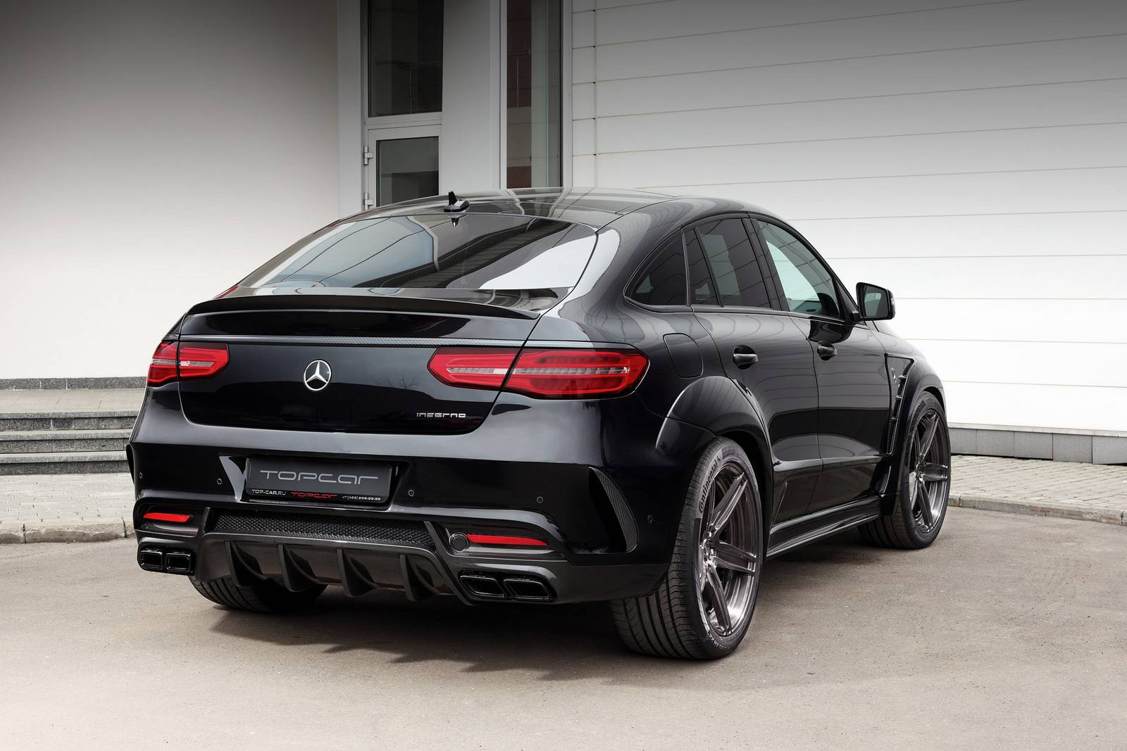 official topcar mercedes benz gle coupe inferno gtspirit. Black Bedroom Furniture Sets. Home Design Ideas