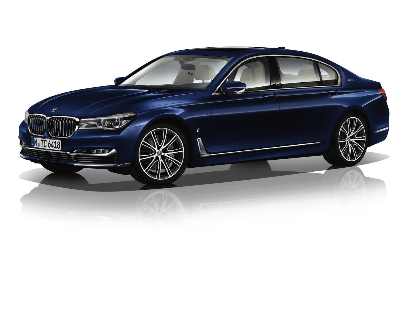2017 BMW 7 Series Centennial Editions Supercar