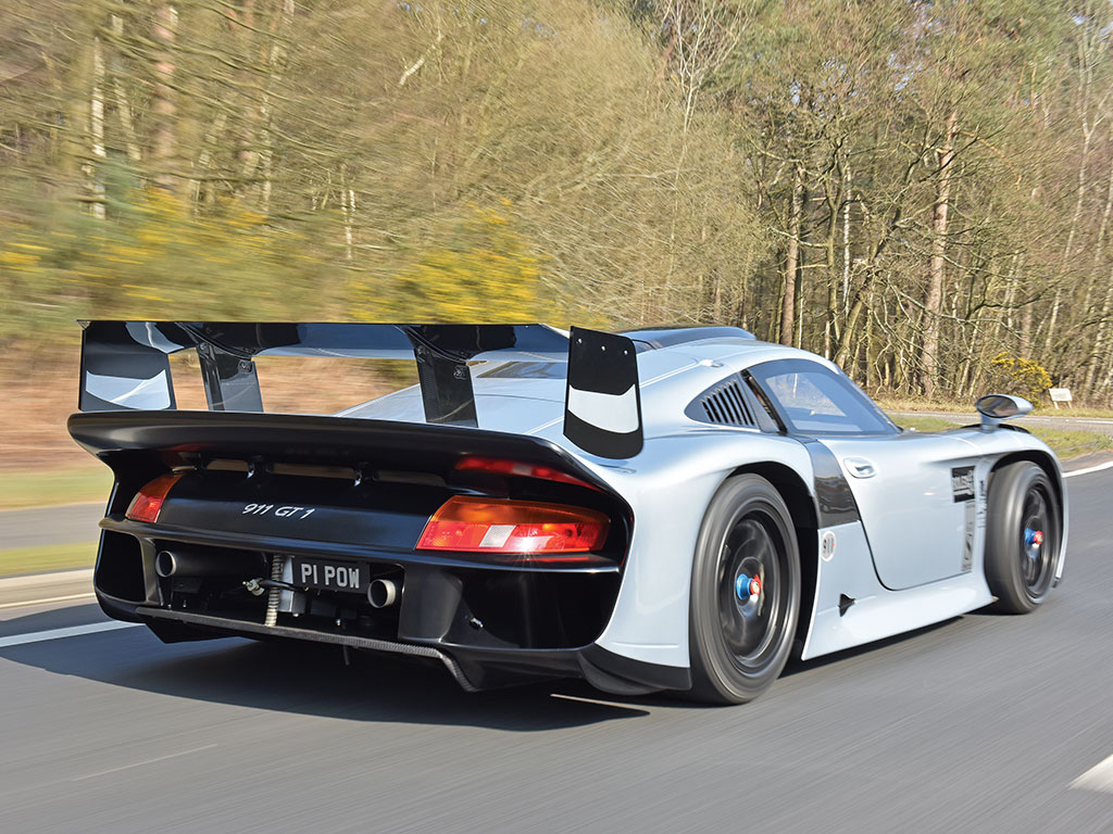 1 of 1 Road Legal Porsche 911 GT1 Evo to be Auctioned in Monaco
