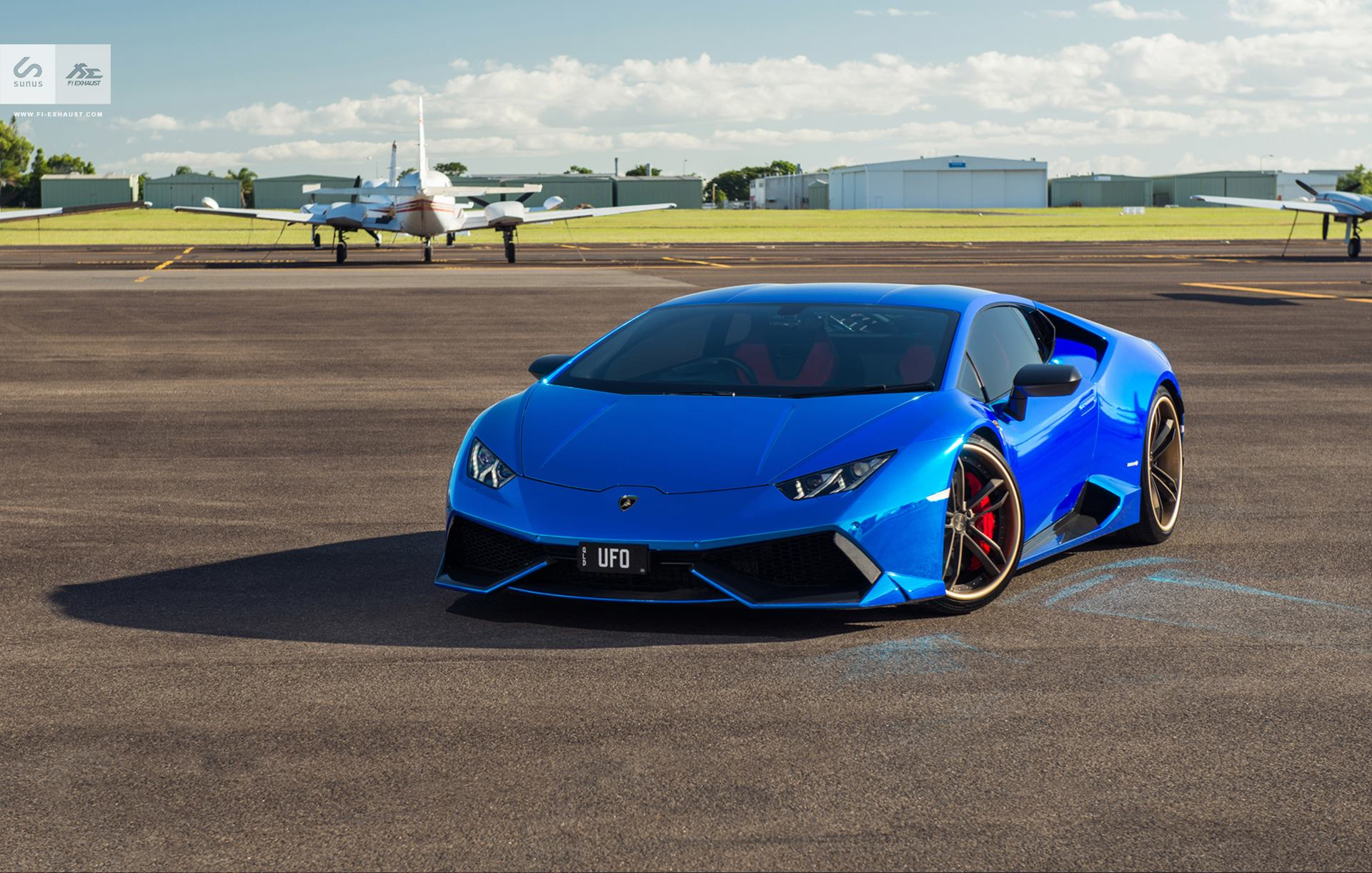 blue chrome lamborghini huracan by sunus motorsport car