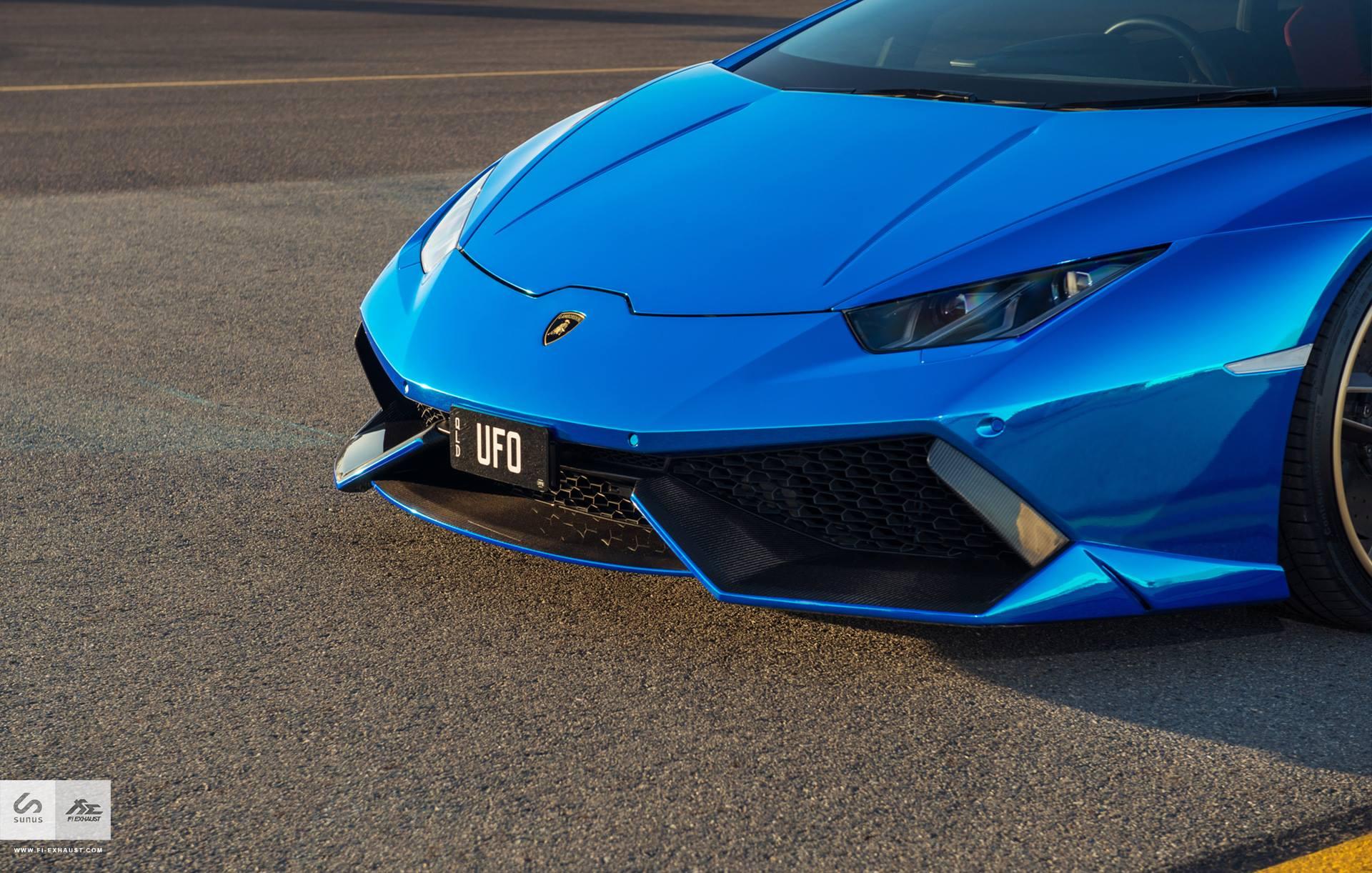 Stunning Blue Chrome Lamborghini Huracan By Sunus Motorsport Gtspirit