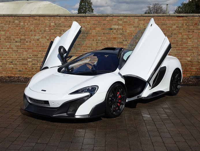 Silica White McLaren 675LT For Sale at $569,108 - GTspirit