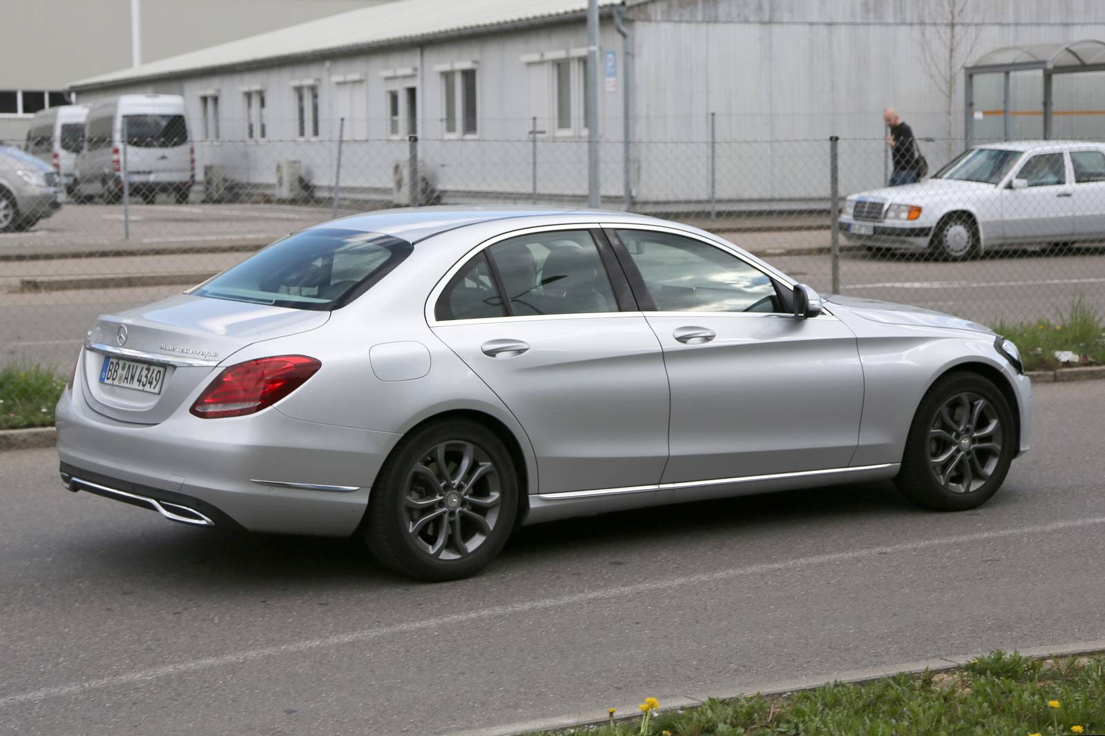 2018 mercedes benz c class facelift spy shots gtspirit for Mercedes benz c class models