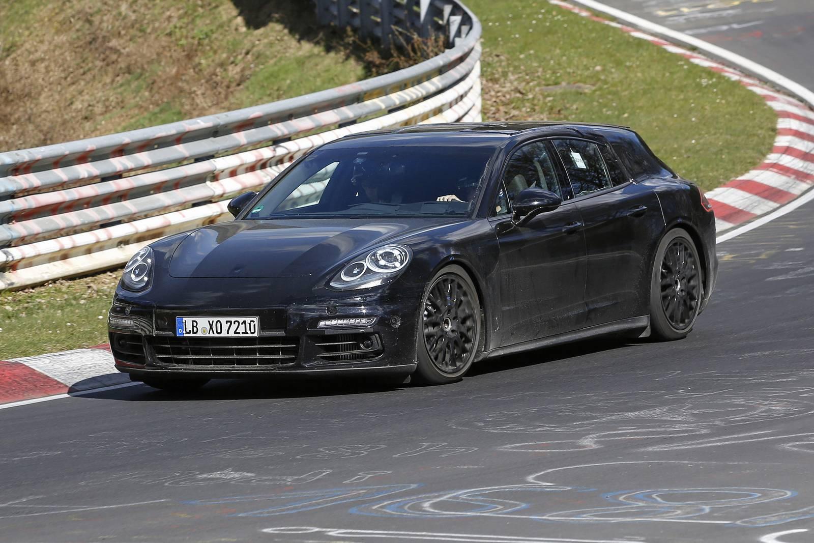 2018 porsche panamera shooting brake latest spy shots gtspirit -  2018 Porsche Panamera Shooting Brake Latest Spy Shots Supercar