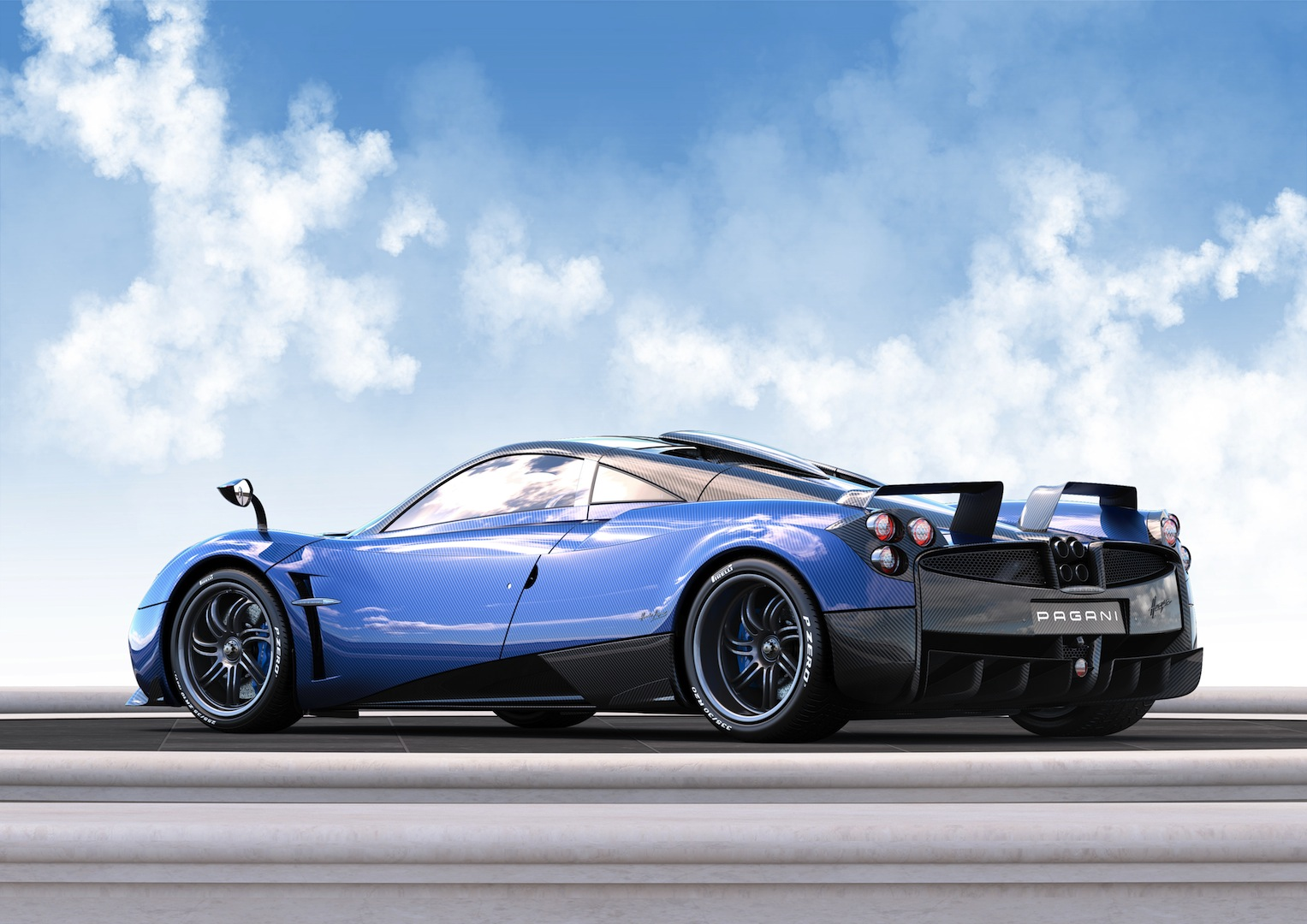 Official 1 Of 1 Pagani Huayra Pearl Gtspirit