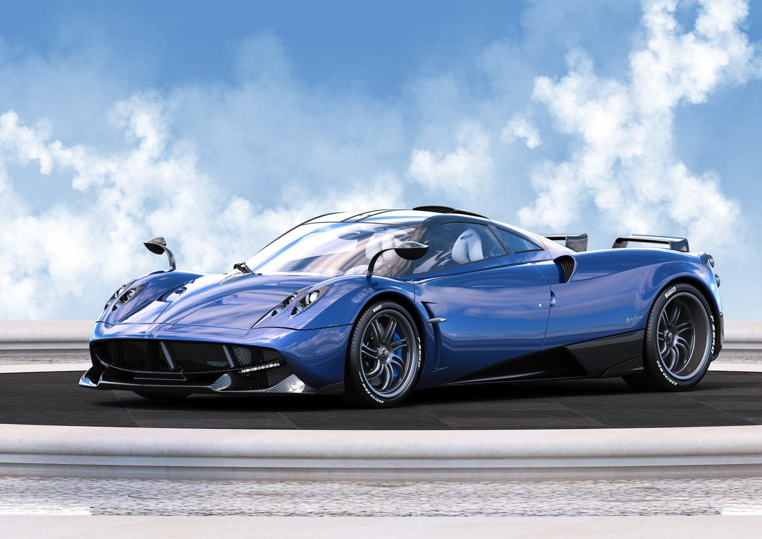 Official: 1 of 1 Pagani Huayra Pearl - GTspirit