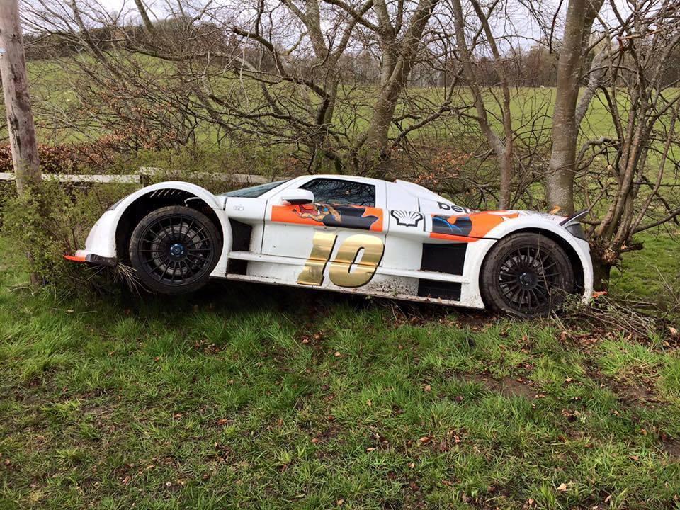 Gumpert Apollo is the First Crash of 2016 Gumball 3000 - GTspirit