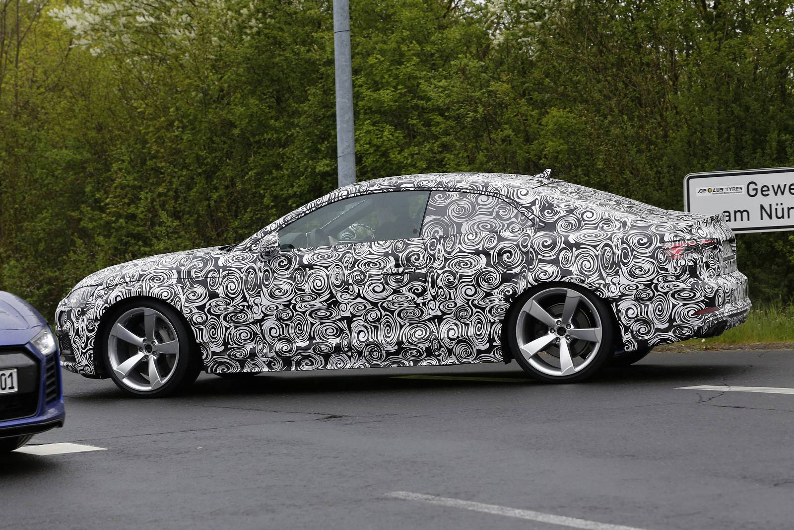 2018 Audi Rs5 First Test Mule Spy Shots Gtspirit