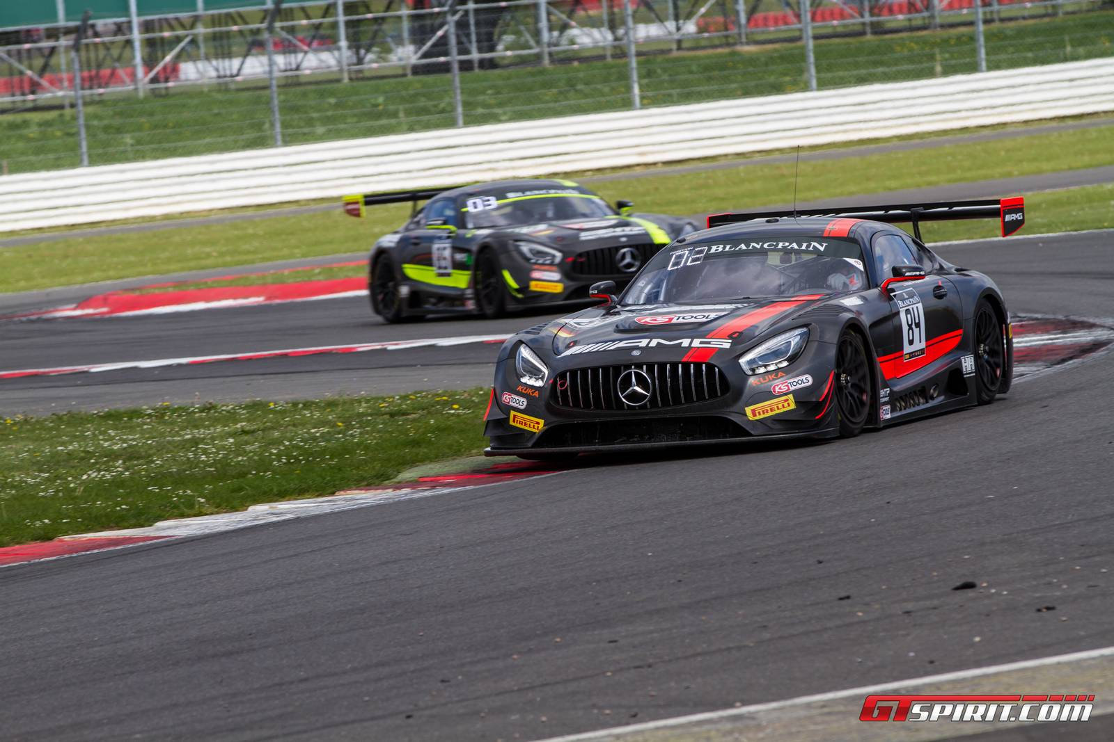 Blancpain GT: Mercedes-AMG GT3s Dominate Silverstone with 2 Wins ...
