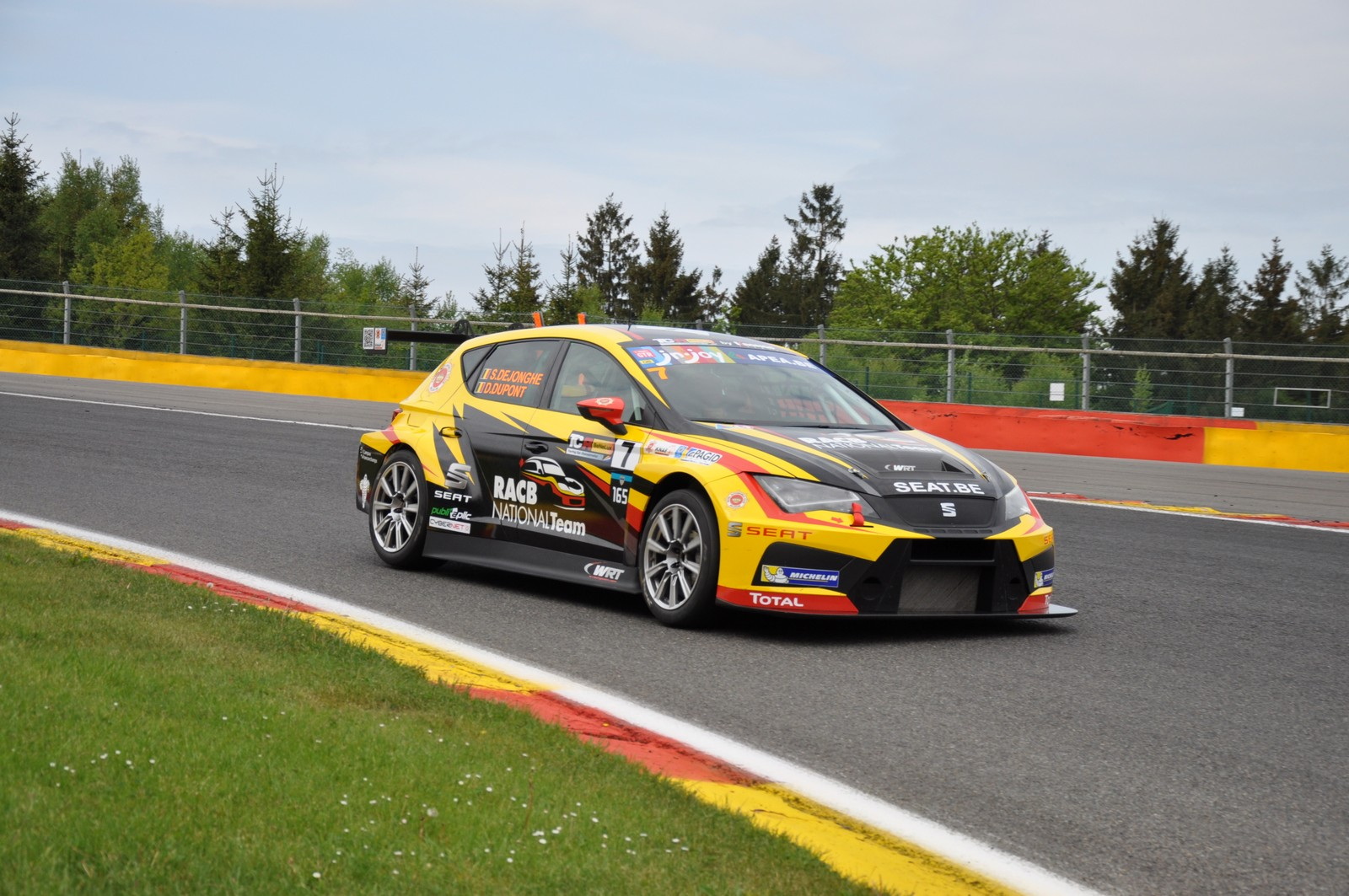 Tcr benelux at curbstone track events in francorchamps for Benelux cars