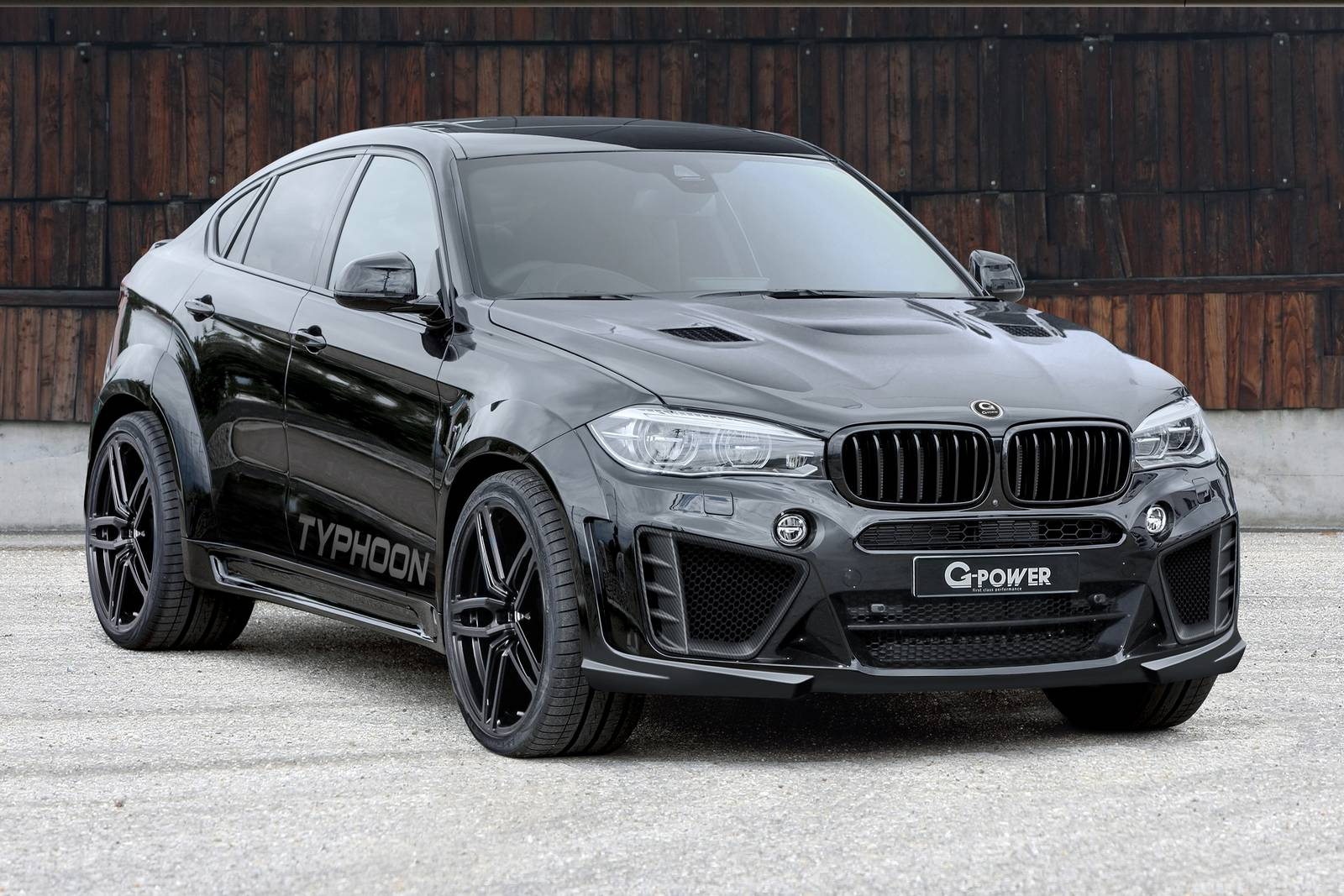 official 750hp g power bmw x6 m typhoon gtspirit