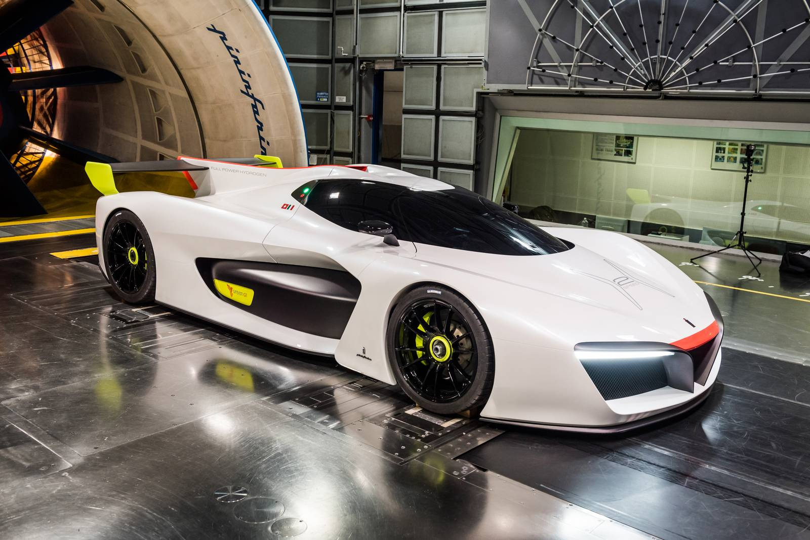 Photo Of The Day Pininfarina H2 Speed In The Wind Tunnel
